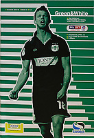 The front cover of the Yeovil Town match day programme during Yeovil Town vs Wycombe Wanderers, Sky Bet EFL League 2 Football at Huish Park on 14th April 2018