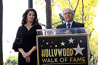 LOS ANGELES - APR 3:  Lynda Carter, Les Moonves at the Lynda Carter Star Ceremony on the Hollywood Walk of Fame on April 3, 2018 in Los Angeles, CA