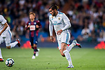 Theo Hernandez of Real Madrid in action during the La Liga 2017-18 match between Real Madrid and SD Eibar at Estadio Santiago Bernabeu on 22 October 2017 in Madrid, Spain. Photo by Diego Gonzalez / Power Sport Images