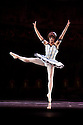 Columbine (Rafaelle Morra). Les Ballets Trockadero de Monte Carlo perform Harlequinade in Programme 2 at the Peacock Theatre (Sadlers Wells), 17.9.10. Photograph by Jane Hobson