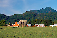 Fraser Valley Farm, Southwestern BC, British Columbia, Canada