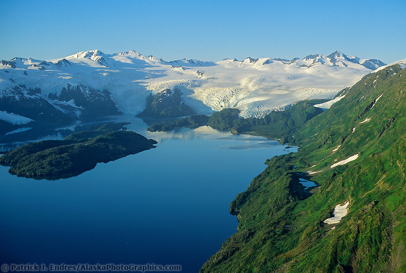 Blackstone Bay, Blackstone glacier, Prince William Sound, Alaska