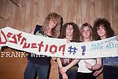 Apr 14, 1989: DESTRUCTION - L'Amour Brooklyn New York