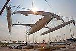 El trimarán Gitana de Artemis Racing. Fotos/Photos