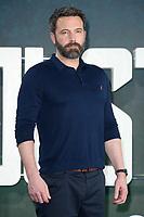 "Ben Affleck<br /> at the ""Justice League"" photocall,  London<br /> <br /> <br /> ©Ash Knotek  D3345  04/11/2017"