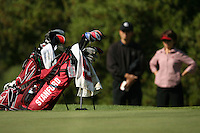 6 April 2007: Angela King's golf bag during the Peg Barnard Collegiate at the Stanford Golf Course in Stanford, CA.