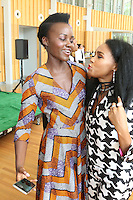New York Ny Aug 27: Janelle Monae & Lupita Nyong'o The Pre-VMA Fem The Future Brunch with Janelle Monae in New York City on August 27, 2016 Credit Walik Goshorn / MediaPunch