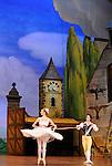 LA FILLE MAL GARDEE....Choregraphie : ASHTON Frederick..Compositeur : HEROLD Louis joseph Ferdinand..Compagnie : Ballet de l Opera National de Paris..Orchestre : Orchestre de l Opera National de Paris..Decor : LANCASTER Osbert..Lumiere : THOMSON George..Costumes : LANCASTER Osbert..Avec :..OULD BRAHAM Myriam..HEYMANN Mathias..Lieu : Opera Garnier..Ville : Paris..Le : 26 06 2009..© Laurent PAILLIER / www.photosdedanse.com..All rights reserved