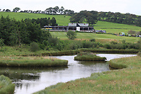 View of the clubhouse during the Preview of the AIG Cups & Shields Connacht Finals 2019 in Wesport Golf Club, Westport, Co. Mayo on Thursday 8th August 2019.<br /> <br /> Picture:  Thos Caffrey / www.golffile.ie<br /> <br /> All photos usage must carry mandatory copyright credit (© Golffile | Thos Caffrey)