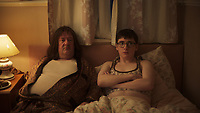 Eaten by Lions (2018) <br /> Johnny Vegas, Jack Carroll<br /> *Filmstill - Editorial Use Only*<br /> CAP/MFS<br /> Image supplied by Capital Pictures