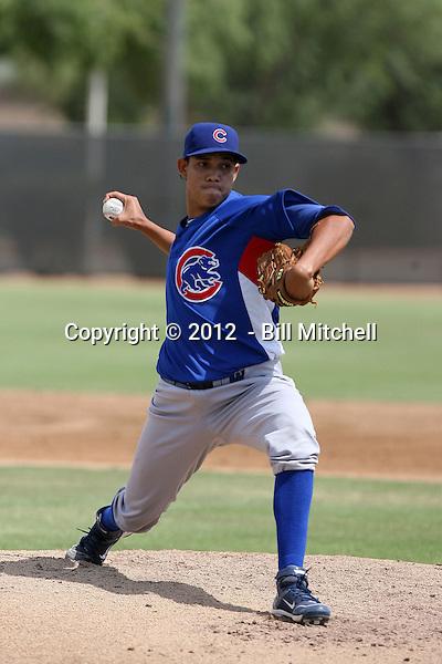 Daniel Adrian - 2012 AZL Cubs (Bill Mitchell)