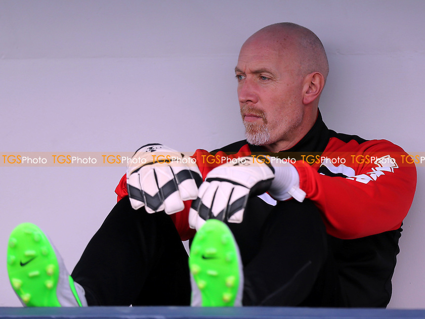 MK Dons Goalkeeping Coach, Paul Heald during Millwall vs MK Dons, Sky Bet EFL League 1 Football at The Den on 4th March 2017