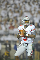 27 October 2012:  Ohio State QB Braxton Miller (5).The Ohio State Buckeyes defeated the Penn State Nittany Lions 35-23 at Beaver Stadium in State College, PA.