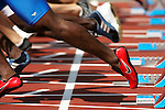 Athletics.Shoes of runner, EXPA Pictures © 2010, PhotoCredit: EXPA/ New Sport/ Erich Schlegel *** ATTENTION *** United States of America OUT!