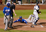 Action from the Reno Aces vs Las Vegas 51s game played on Tuesday night, May 1, 2012 in Reno, Nevada.