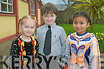 Dance: Stepping it out at the Jimmy Hickey School of Dancing Feis at Scoil Realta na Maidne, Listowel on Sunday were Leah Smith (5), Patrick Brosnan (7) and Ariceyda Hillard (5).