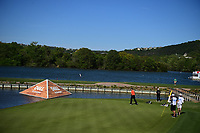 Jon Rahm (ESP) barely misses his putt on 13 during round 2 of the World Golf Championships, Dell Technologies Match Play, Austin Country Club, Austin, Texas, USA. 3/23/2017.<br /> Picture: Golffile | Ken Murray<br /> <br /> <br /> All photo usage must carry mandatory copyright credit (&copy; Golffile | Ken Murray)