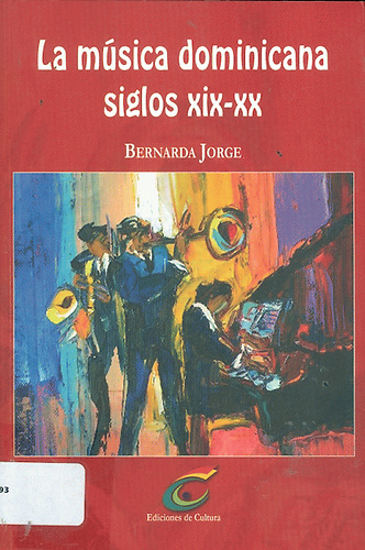 Música dominicana.Libro de Bernarda Jorge.
