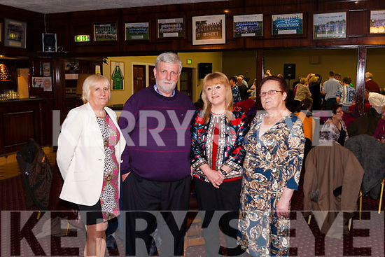 Last Sunday a Tea Dance was held in Fr. Casey's GAA clubhouse Abbeyfeale in aid of  missionary Fr. Martin McCormack from Ballydesmond. From Left: Kathy Carmody Astee, Mary Kelliher Castleisland, Josie Fallon Knocknagoshel.