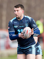Picture by Allan McKenzie/SWpix.com - 25/03/2018 - Rugby League - Betfred Championship - Batley Bulldogs v Featherstone Rovers - Heritage Road, Batley, England - Sam Brooks.