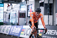 Ryan kamp (NED)  wins the Men's U23 race<br /> <br /> UCI 2020 Cyclocross World Championships<br /> Dübendorf / Switzerland<br /> <br /> ©kramon