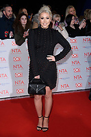 Amelia Lilly at the National Television Awards 2018 at the O2 Arena, Greenwich, London, UK. <br /> 23 January  2018<br /> Picture: Steve Vas/Featureflash/SilverHub 0208 004 5359 sales@silverhubmedia.com