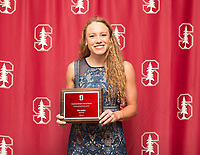 Stanford, California - June 13, 2019: Stanford Athletics Board Awards Ceremony at Bing Concert Hall in Stanford, California.