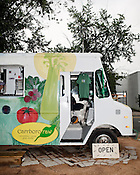 May 24, 2010. Chapel Hill, North Carolina.. Carrboro Raw sells a variety of juices, smoothies and wheat grass concoctions.. The Triangle has seen a recent boom in the number of mobile food trucks selling everything from tacos, to Korean BBQ, to fresh juices.