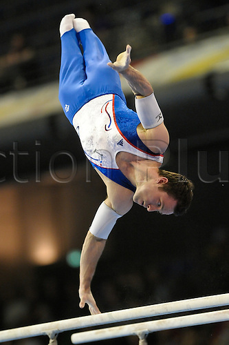 07.04.2011 European Championships Artistic Gymnastics from Berlin.Mens Qualifications. Beny of France