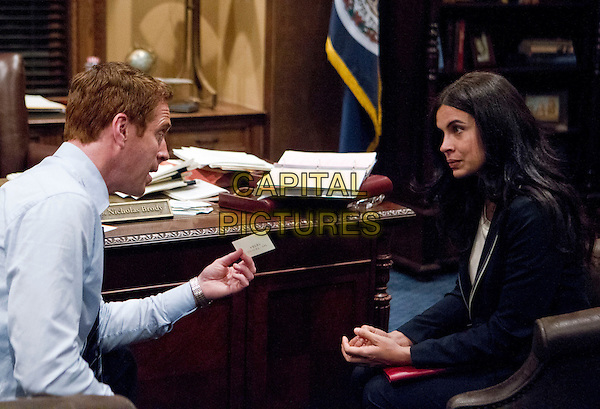 Damian Lewis & Zuleikha Robinson.in Homeland (Season 2).*Filmstill - Editorial Use Only*.CAP/FB.Supplied by Capital Pictures.