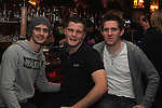Mickey Burke, Niall Levins and Phillip Meegan in Hogs and Heiffers...(Photo credit should read Jenny Matthews/www.newsfile.ie)....This Picture has been sent you under the conditions enclosed by:.Newsfile Ltd..The Studio,.Millmount Abbey,.Drogheda,.Co Meath..Ireland..Tel: +353(0)41-9871240.Fax: +353(0)41-9871260.GSM: +353(0)86-2500958.email: pictures@newsfile.ie.www.newsfile.ie.