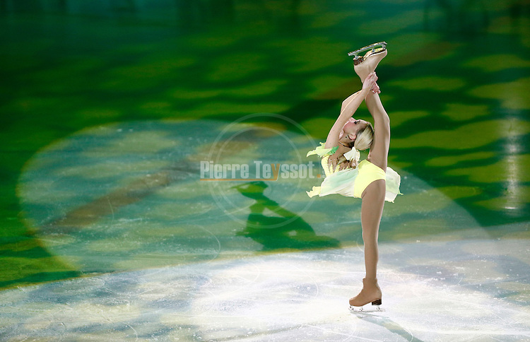 Russia's Elizaveta Nugumanova attends the Ice Gala in Bolzano, on December 29, 2014.