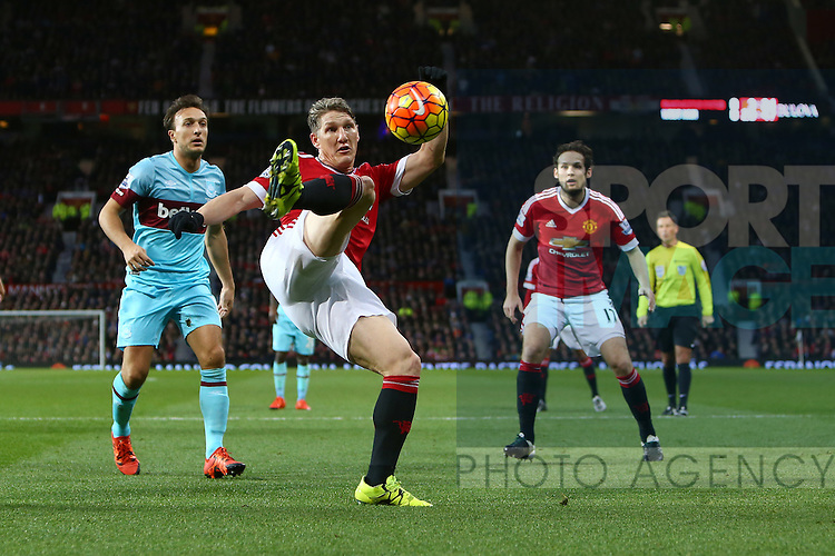 Bastian Schweinsteiger of Manchester United in action - Manchester United vs West Ham United - Barclay's Premier League - Old Trafford - Manchester - 05/12/2015 Pic Philip Oldham/SportImage