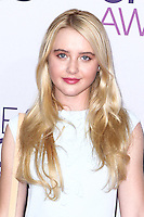 LOS ANGELES, CA - JANUARY 09: Kathryn Newton arrives at the 39th Annual People's Choice Awards held at Nokia Theatre L.A. Live on January 9, 2013 in Los Angeles, California.  Credit: MediaPunch Inc. /NORTEPHOTO