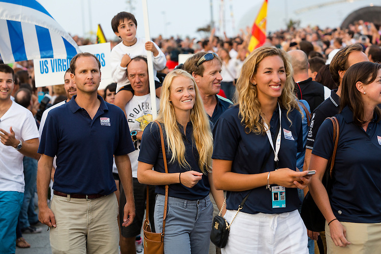 20140911, Santander, Spain: 2014 ISAF SAILING WORLD CHAMPIONSHIPS - More than 1,250 sailors in over 900 boats from 84 nations will compete at the Santander 2014 ISAF Sailing World Championships from 8-21 September 2014. The best sailing talent will be on show and as well as world titles being awarded across ten events 50% of Rio 2016 Olympic Sailing Competition places will be won based on results in Santander.. Photo: Mick Anderson/SAILINGPIX.DK. Keywords: Sailing, water, sport, ocean, boats, olympic, dinghy, dinghies, crew, team, sail. Filename: _49A1062.CR2.