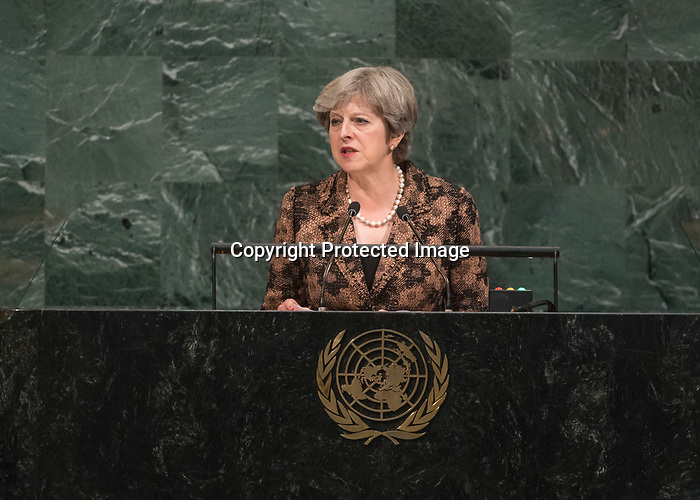 72 General Debate – 20 September <br /> <br /> <br /> Her Excellency Theresa May, Prime Minister of the United Kingdom of Great Britain and Northern Ireland