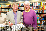 "Book launch of ""The great famine in Tralee and North Kerry"" the new book by Bryan Mac Mahon of Ballyheigue here signing at  O'Mahony's Bookshop on Thursday here with Timothy Murphy, Castleisland"