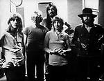 Fleetwood Mac 1971 Danny Kirwan, Bob Welch, Mick Fleetwood, Christine Perfect (McVie) and John McVie
