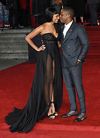 Leslie Odom Jr. and Nicolette Robinson<br /> at the &quot;Murder on the Orient Express&quot; premiere held at the Royal Albert Hall, London<br /> <br /> <br /> &copy;Ash Knotek  D3344  03/11/2017