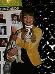 Supermodel Paulina Porizkova and puppy at the First Annual StarPet 2008 Awards Luncheon as dogs and cats compete for a career in showbusiness on November 10, 2008 at the Edison Ballroom, New York, New York. The event benefitted Bideawee and NY SAVE. (Photo by Sue Coflin/Max Photos