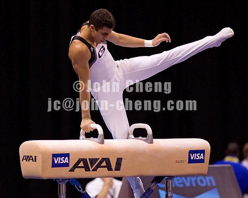 8/18/06 -- Photo By John Cheng -- Visa Championship Men Sr Final -- Danell Leyva (Gattaca)
