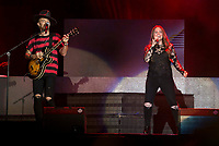 Jesse&Joy live during VivaDial concert  at Wizink Center in Madrid, Spain September 09, 2017. (ALTERPHOTOS/Borja B.Hojas) /NortePhoto.com