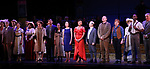 "Reed Birney, Nancy Opel, Tam Mutu, Alexandra Socha, Bebe Neuwirth, Vanessa Williams,  Joel Grey, Bob Martin, Carolee Carmello, Clifton Duncan and Douglas Sills with cast during the final performance curtain call for the New York City Center Encores! at 25 production of  ""Hey, Look Me Over!"" on February 11, 2018 at the City Center Theatre in New York City."