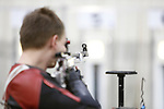 COLUMBUS, OH - MARCH 11: A Nebraska student athlete competes during the Division I Rifle Championships held at The French Field House on the Ohio State University campus on March 11, 2017 in Columbus, Ohio. (Photo by Jay LaPrete/NCAA Photos via Getty Images)