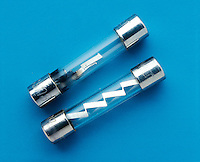 BUSS GLASS TUBE FUSES: ONE BLOWN<br /> 30/60 Amp<br />  Slow Blow Electronic Fuses