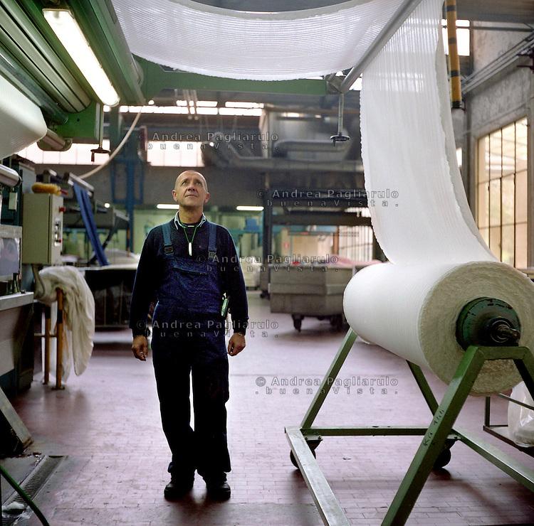 Bollate (MI), tintoria tessile industriale Syntess.