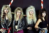 1989: VIXEN - Photosession in Paris France