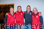 East Kerry's Jerry O'Sullivan manager, Sean Cronin Selector, Arthur Fitzgerald Coach and Johnny Brosnan Chairman having a great time at homecoming to Spa GAA club on Monday evening