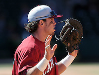 USC first baseman Nick Ebert (47) prior to a game between the Furman Paladins and South Carolina Gamecocks Tuesday, March 16, 2010, at Fluor Field at the West End in Greenville, S.C. Ebert is ranked No. 27 senior draft prospect in the nation by Baseball America. Photo by: Tom Priddy/Four Seam Images