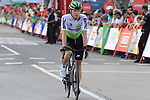 Riders cross the finish line at the end of Stage 4 of La Vuelta 2019 running 175.5km from Cullera to El Puig, Spain. 27th August 2019.<br /> Picture: Eoin Clarke | Cyclefile<br /> <br /> All photos usage must carry mandatory copyright credit (© Cyclefile | Eoin Clarke)